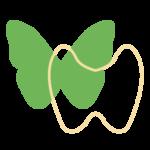Das Bild zeigt einen Icon eines Schmetterlings als Metapher des Schilddrüse. Endokrinologie und Schilddrüsenerkrankungen Düsseldorf Essen Mönchengladbach Bonn