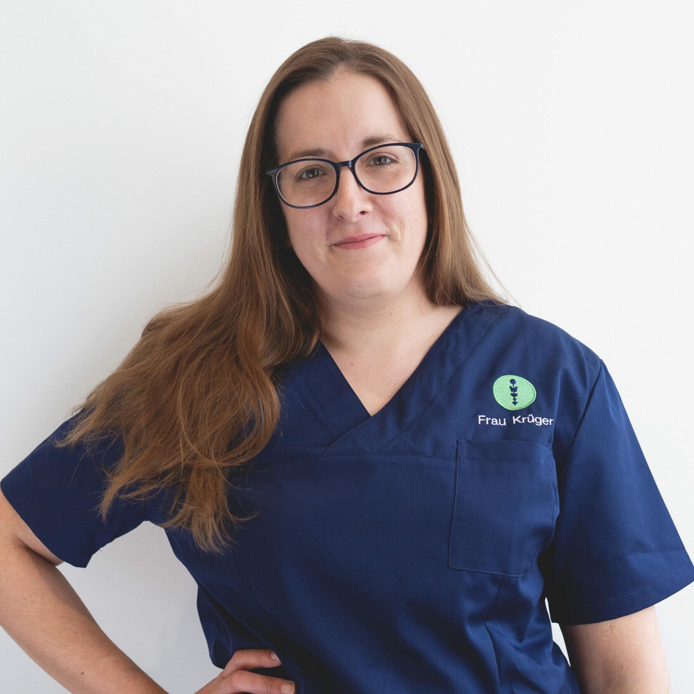 Das Foto zeigt Frau Krüger, Praxis Managerin des Endomedicum in Düsseldorf