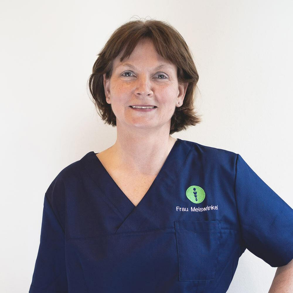 Das Foto zeigt Frau Meiswinkel, Praxis Managerin des Endomedicum in Düsseldorf