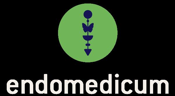 Das Bild zeigt das Logo des Endomedicums. MVZ für Innere Medizin & Hormon- und Stoffwechselerkrankungen